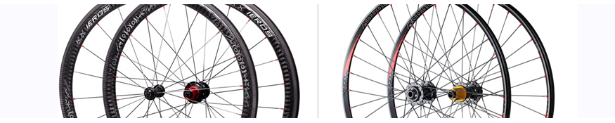 Dettagli ruote di biciclette