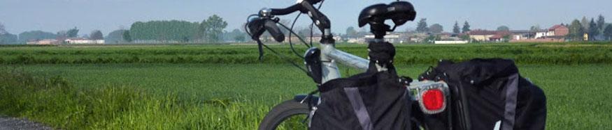 Bicicletta con portapacchi