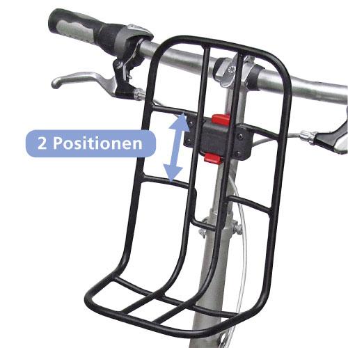 Struttura porta pacchi per bicicletta VarioRack Klickfix