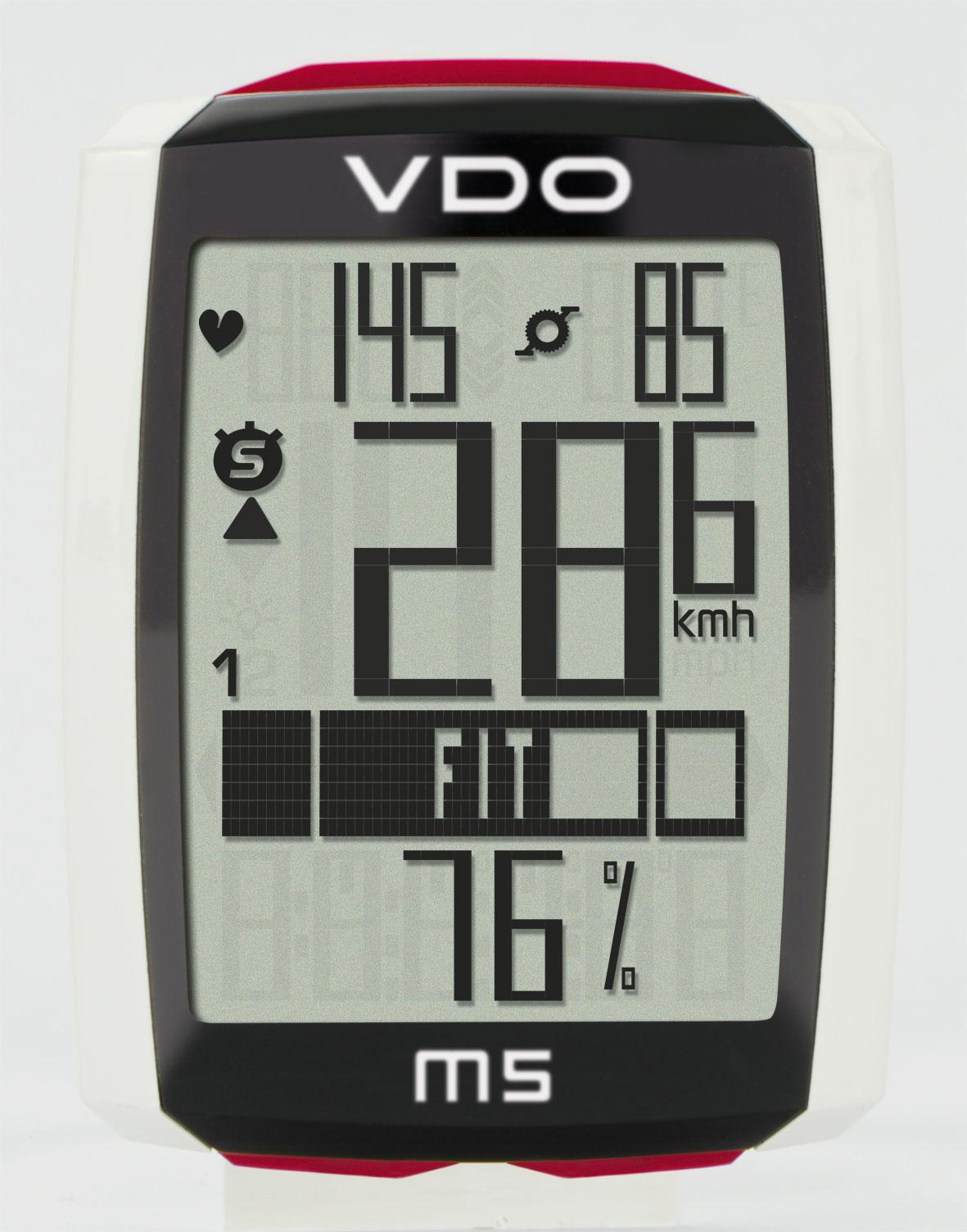 ciclo-computer VDO M5 WL