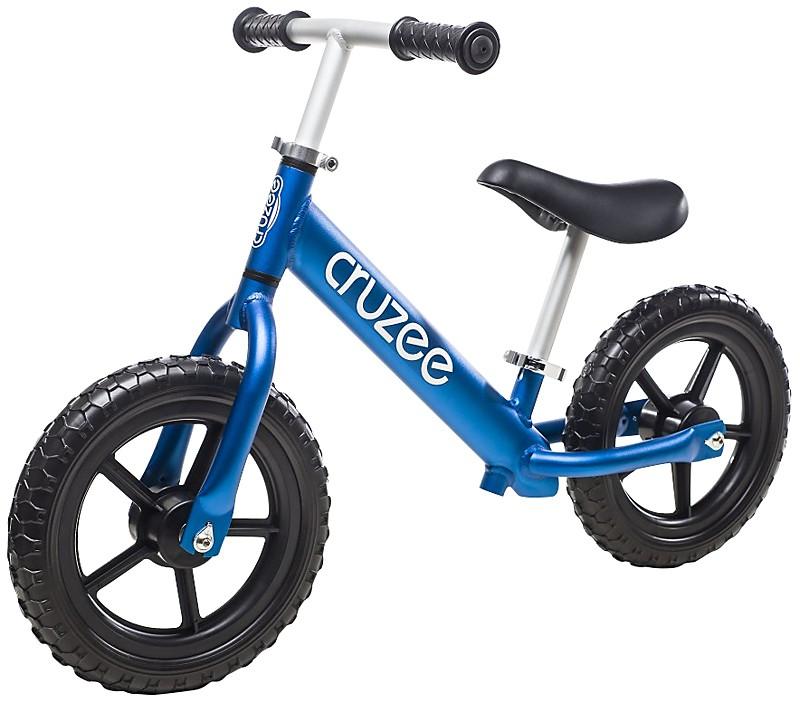 Bicicletta senza pedali blu Cruzee